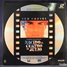 Cine: NACIDO EL 4 DE JULIO - LASER DISC. Lote 195277706