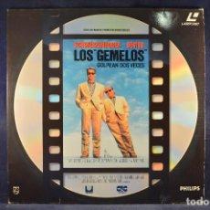 Cine: LOS GEMELOS - LASER DISC. Lote 195280061