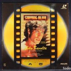 Cine: JOHN TRAVOLTA - LASER DISC . Lote 195280168