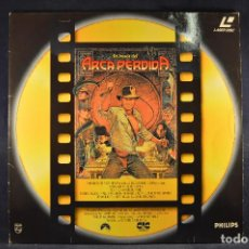 Cine: EN BUSCA DEL ARCA PERDIDA - LASER DISC . Lote 195280432