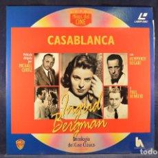 Cine: CASABLANCA - LASER DISC . Lote 195280486