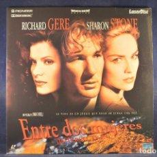 Cine: ENTRE DOS MUJERES (INTERSECTIO) - LASER DISC. Lote 195365732