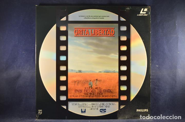GRITA LIBERTAD - LASER DISC (Cine - Varios)