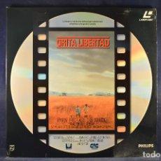 Cine: GRITA LIBERTAD - LASER DISC . Lote 195365921
