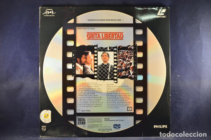 Cine: GRITA LIBERTAD - LASER DISC - Foto 2 - 195365921
