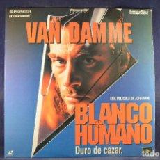 Cine: BLANCO HUMANO - LASER DISC . Lote 195366122