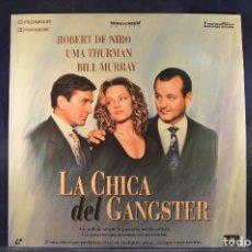 Cine: LA CHICA DEL GANSTER - LASER DISC . Lote 195366333