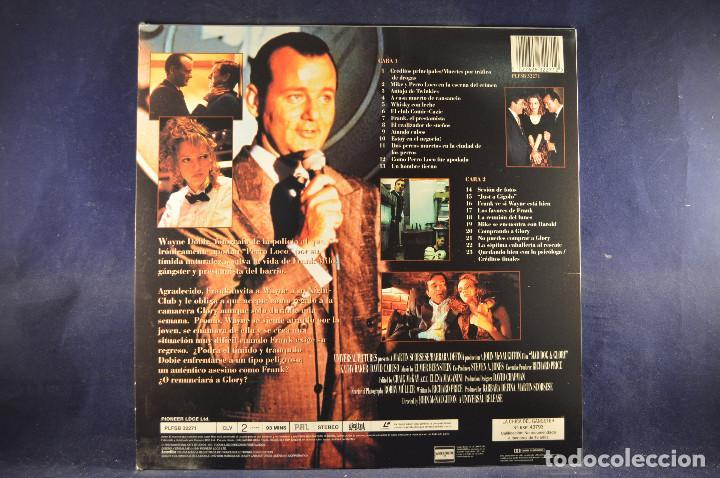 Cine: LA CHICA DEL GANSTER - LASER DISC - Foto 2 - 195366333