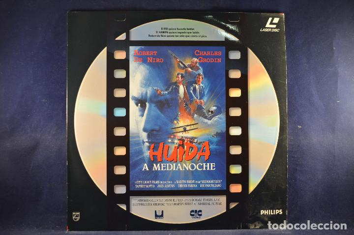 HUÍDA A MEDIANOCHE - LASER DISC (Cine - Varios)