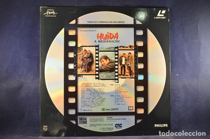 Cine: HUÍDA A MEDIANOCHE - LASER DISC - Foto 2 - 195366405