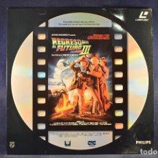 Cine: REGRESO AL FUTURO III - LASER DISC. Lote 195366468