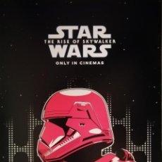 Cine: TRES LÁMINAS DE STAR WARS - THE RISE OF SKYWALKER. Lote 195428728