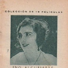 Cinema: ANTIGUO FOLLETO DE LA PELÍCULA MUDA NOBLEZA BATURRA (1926). DEPURATIVO WOKEYER. INO ALCUBIERRE.. Lote 195602085
