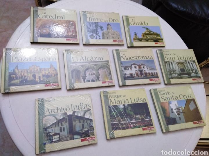 LOTE DE 10 DVD + LIBRO SEVILLA MONUMENTAL ( EL CORREO ) (Cine - Varios)