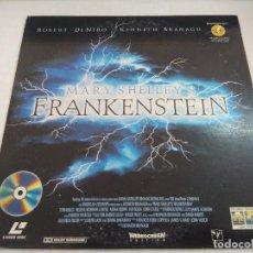 Cinéma: LASER DISC/FRANKENSTEIN.. Lote 196778750