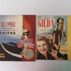 Cine: GILDA CARPETA DE COLUMBIA FILMS 1947-1948. Lote 196782086