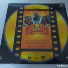 Cinéma: LASER DISC/CUENTOS ASOMBROSOS/DISCO EDITICION COLOR ORO. . Lote 197803538
