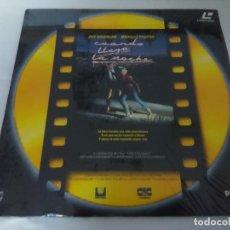Cinéma: LASER DISC/CUANDO LLEGA LA NOCHE/MICHELLE PFEIFFER/DISCO EDITICION COLOR ORO. . Lote 197803647