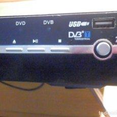Cine: REPRODUCTOR DVD - USB - TAL Y COMO SE MUESTRA - FUNCIONANDO - 23 X 26 CM. Lote 198962047