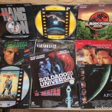 Cine: LOTE DE 10 LASER DISC: ET, PARQUE JURASICO, SOLDADO UNIVERSAL, APOLO 13... - LASERDISC. Lote 199577362