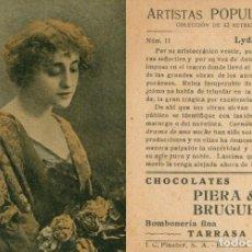 Cine: ARTISTAS POPULARES COLECCION DE 42 RETRATOS. Lote 199618307