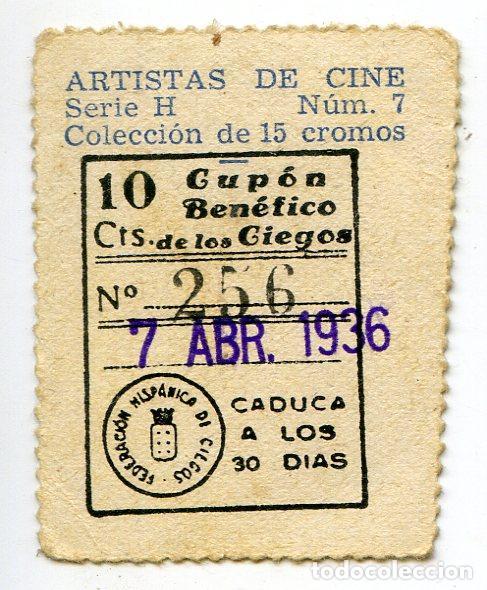 Cine: Carole Lombard. Cupón Benéfico de los Ciegos, 7 de abril de 1936 - Foto 2 - 204115975