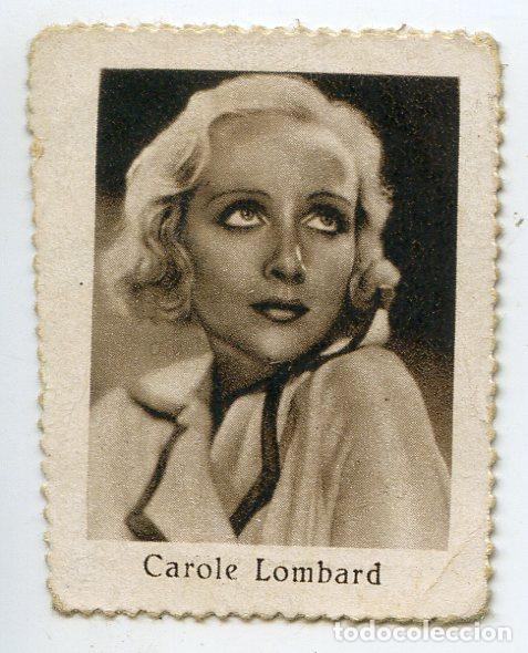 CAROLE LOMBARD. CUPÓN BENÉFICO DE LOS CIEGOS, 7 DE ABRIL DE 1936 (Cine - Varios)