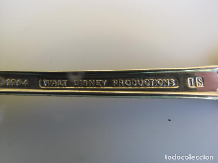 Cine: 3- Tres cucharas Silver Plated. 1964. Walt Disney Promoción Mary Poppins - Foto 7 - 204275382
