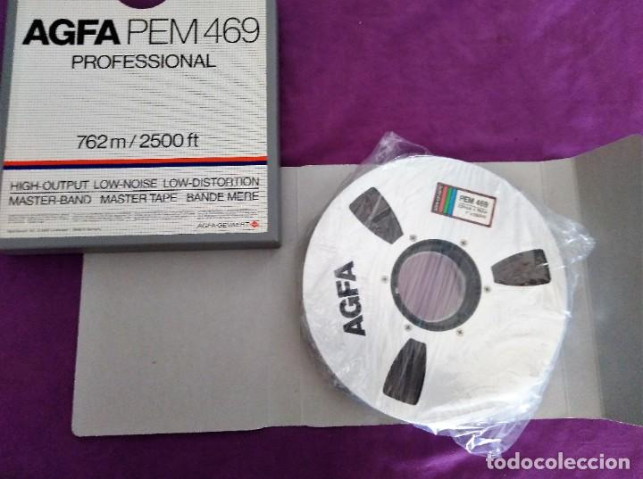 BOBINA AGFA PEM 469 PROFESSIONAL 762 2500 FT NUEVA (Cine - Varios)