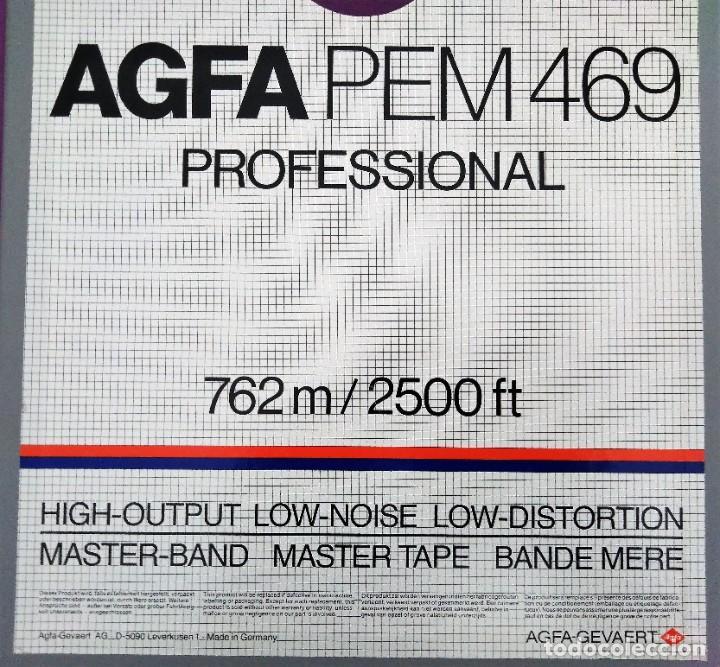 Cine: BOBINA AGFA PEM 469 PROFESSIONAL 762 2500 FT NUEVA - Foto 3 - 204784217