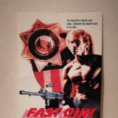 Cine: MINI-POSTER ORIGINAL -13*18- FAST GUN ARMA RAPIDA - ARCHIVO - RICK HILL - ACCION. Lote 206188955