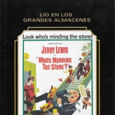 Cine: LIBRETO LÍO EN LOS GRANDES ALMACENES - FRANK TASHLIN. Lote 206273885