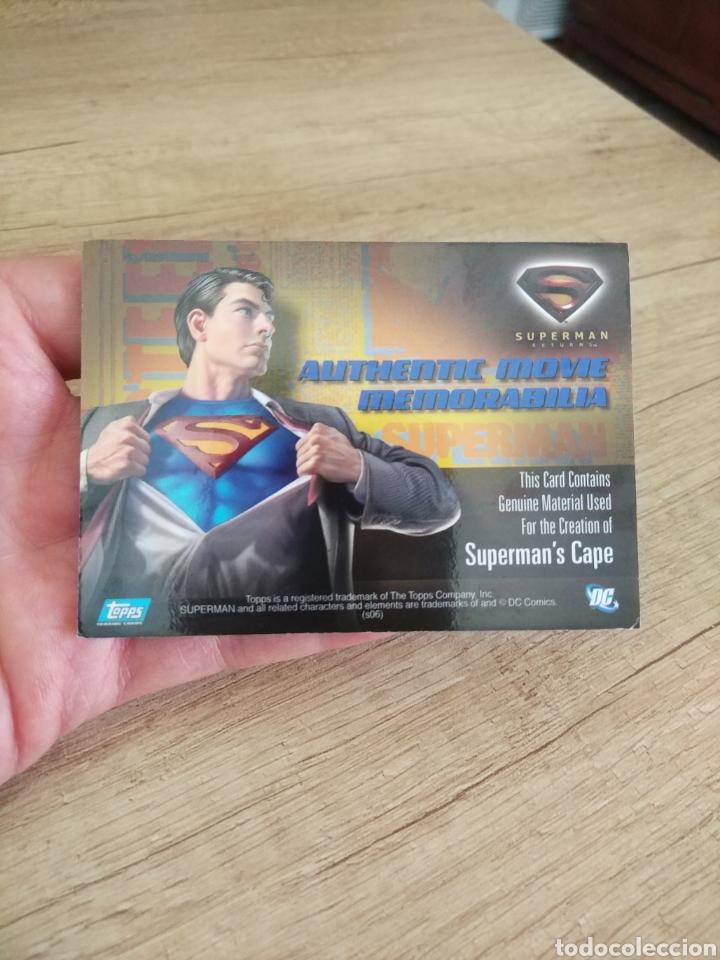 Cine: Autentico trozo de la capa de Superman de la película Superman Returns - Foto 5 - 207146358