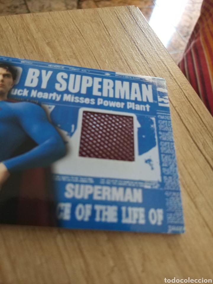 Cine: Autentico trozo de la capa de Superman de la película Superman Returns - Foto 6 - 207146358