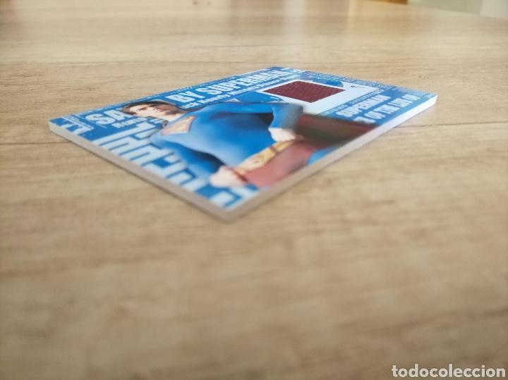Cine: Autentico trozo de la capa de Superman de la película Superman Returns - Foto 12 - 207146358