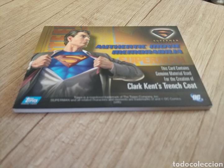 Cine: Autentico trozo de Gabardina de Clark Kent utilizado en la película Superman Returns - Foto 8 - 207146511