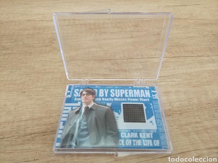 Cine: Autentico trozo de Gabardina de Clark Kent utilizado en la película Superman Returns - Foto 9 - 207146511