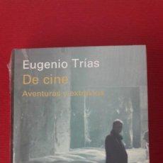 Cine: EUGENIO TRIAS: DE CINE. AVENTURAS Y EXTRAVÍOS. NUEVO¡. Lote 207286662