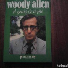 Cine: WOODY ALLEN. EL GENIO DE A PIE. LIBRO EDITADO POR ESPASA-CALPE.COLECCIÓN PERFILES DE HOY.. Lote 207341995
