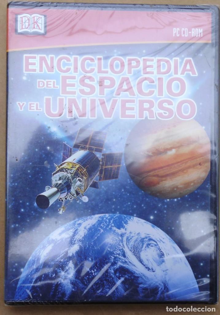 ENCICLOPEDIA DEL ESPACIO Y EL UNIVERSO. CD-PC SIN ABRIR (Cine - Varios)