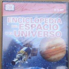 Cine: ENCICLOPEDIA DEL ESPACIO Y EL UNIVERSO. CD-PC SIN ABRIR. Lote 208289658