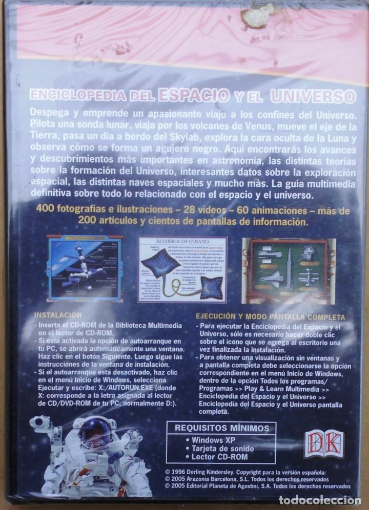 Cine: ENCICLOPEDIA DEL ESPACIO Y EL UNIVERSO. CD-PC SIN ABRIR - Foto 2 - 208289658
