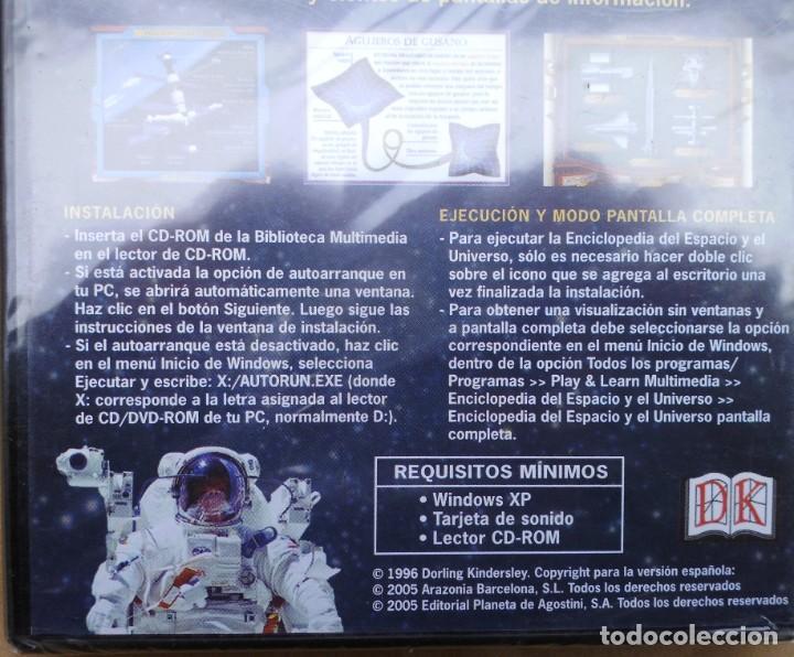 Cine: ENCICLOPEDIA DEL ESPACIO Y EL UNIVERSO. CD-PC SIN ABRIR - Foto 3 - 208289658