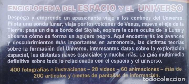 Cine: ENCICLOPEDIA DEL ESPACIO Y EL UNIVERSO. CD-PC SIN ABRIR - Foto 4 - 208289658