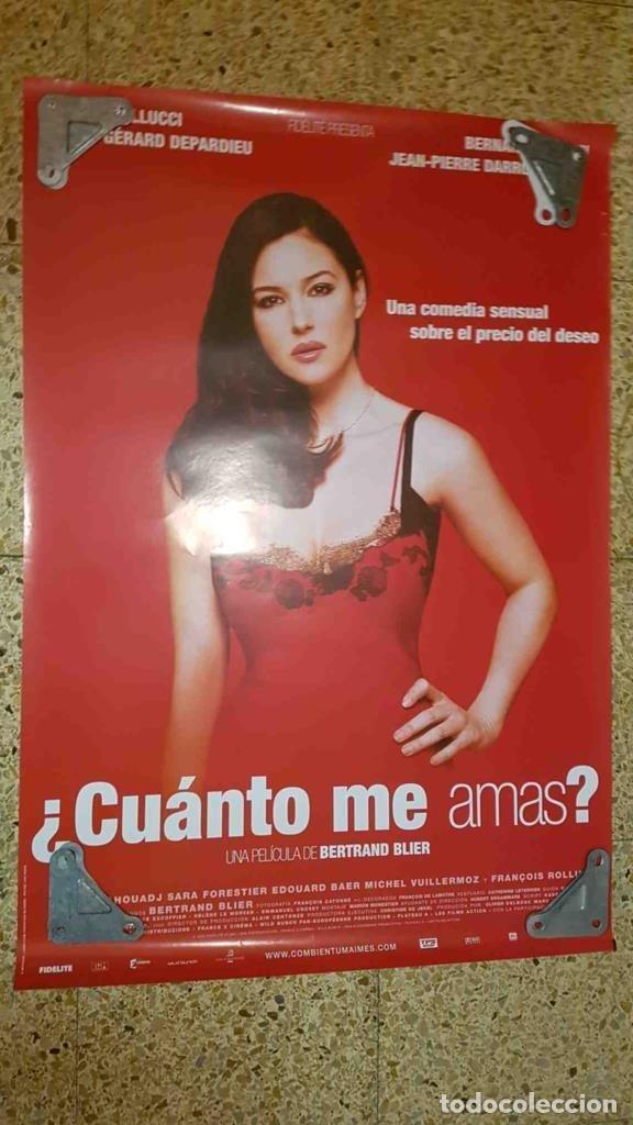 Poster De Cine Cuanto Me Amas Bertrand Blier Comprar En Todocoleccion 208324393