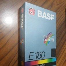Cine: CINTA VHS. BASF. E-180. PRECINTADA. SIN ABRIR. EXTRA QUALITY.. Lote 208386251