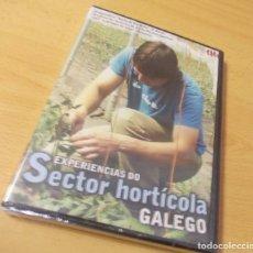 "Cine: DVD "" EXPERIENCIAS DO SECTOR HORTÍCOLA GALEGA"". Lote 209099658"