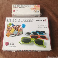 Cine: GAFAS 3D PARA TV LG. Lote 209293510