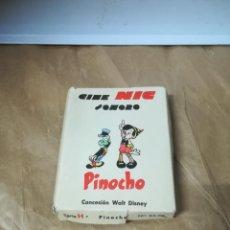 Cine: PELICULAS CINE NIC. SONORO. PINOCHO. CONTIENE 4 DE PINOCHO, 1 DE REYES MAGOS Y OTRA DE LOBO FEROZ.. Lote 258184370