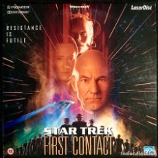 Cine: LASERDISC STAR TREK FIRST CONTACT VERSION ORIGINAL VO LD. Lote 210347773